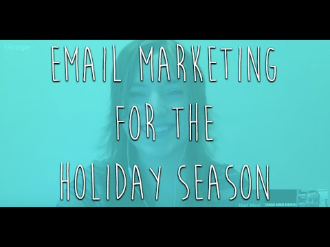 Mad Mimi Presents: Email Marketing for the Holidays