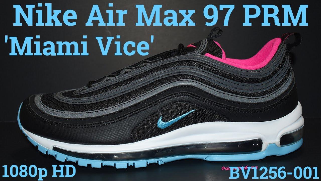 air max 97 miami vice black