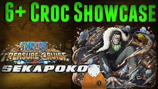 Quad Maxed 6+ Crocodile Showcase | One Piece Treasure Cruise