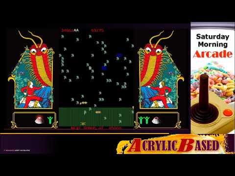 Milipede | Atari Vault | Saturday Morning Arcade |