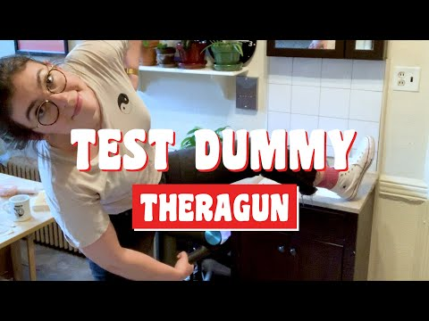 Theragun G3PRO: Does it work?    Test Dummy Ep. 1    Popular Science (#stayhome and #learn #withme)