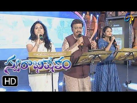 Telugu Padaniki Song | SP Balu,Sunitha,Ramya Behara Performance | Swarabhishekam | 29th Oct 2017