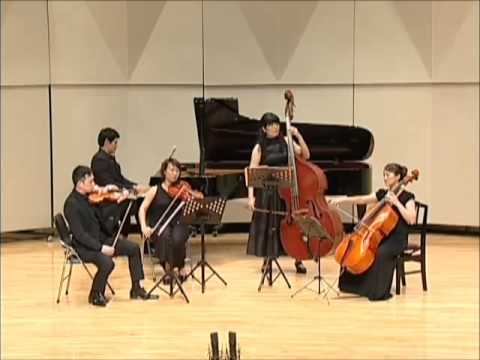 Schubert Quintet For Piano Violin Viola Cello And Doublebass In A Minor D 665 The Trout Mov 5
