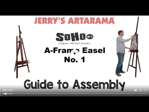 SoHo A-Frame Assembly Instructions