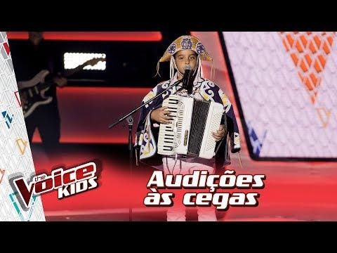 Kayro Oliveira canta 'Eu Só Quero Um Xodó' na Audição – 'The Voice Kids Brasil' | 3ª Temporada