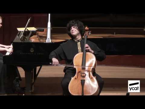 Jamal Aliyev, Maria Tarasewicz; Glazunov, Chant du ménéstrel, Op. 71