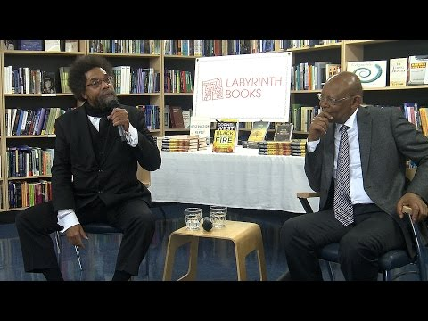 "Dr. Cornel West & James H. Cone in Conversation-""Black Prophetic Fire"""
