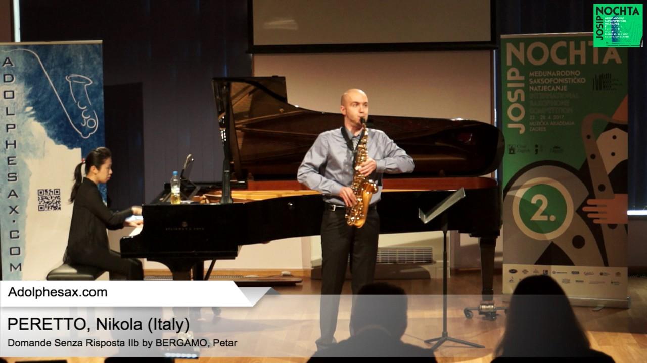 Domande senza risposta IIb by Petar Bergamo – PERETTO, Nicola (Italy)