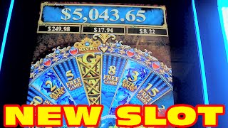 Can Can de Paris NEW SLOT MACHINE Bonus Win - 4x Wheel Spin
