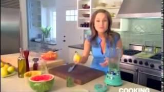 Watermelon And Cantaloupe Salad With Mint Vinaigrette