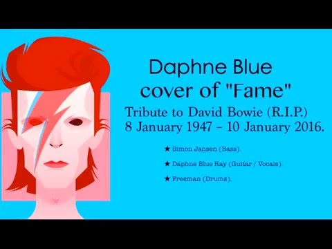Fame David Bowie Cover by Daphne Blue
