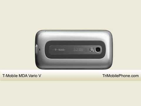 T-Mobile MDA Vario V Mobile Phone Specification, Features and Slide show