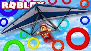 VOANDO A MAIS DE 10.000 METROS DE ALTURA no ROBLOX 🛫 → Hang Gliding Simulator 🎮