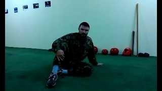 РУБИ - Русское боевое искусство (русский рукопашный бой) .Видеоурок 1.