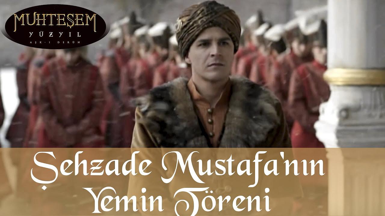 Şehzade Mustafa'nın Yeniçeri Yemin Töreni - Muhteşem Yüzyıl 46.Bölüm