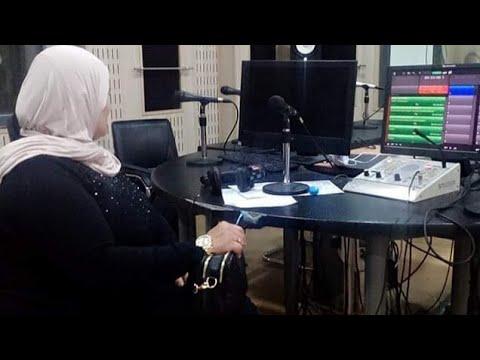 Mon passage sur la chaine radio el Bahdja  avec la charmante ( amina ziri  )