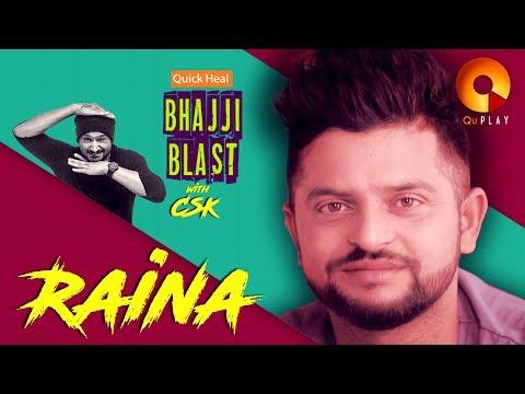 Quick Heal Bhajji Blast with CSK episode #1 - Suresh Raina