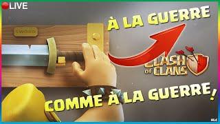 🔵CLASH OF CLANS - 20H00, À LA GUERRE COMME À LA GUERRE !!!! Deviens SPONSOR DE LA PIRATERIE