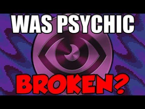 Was Psychic Type REALLY OP In Gen 1 Pokemon?