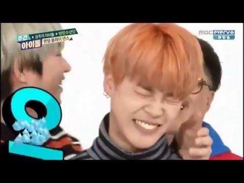 Heechul kiss BTS Jimin (Weekly Idol)