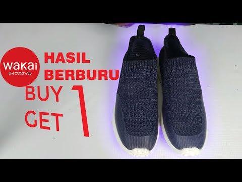 Unboxing Wakai GYOU Buy One Get One Free Hasil Buruan