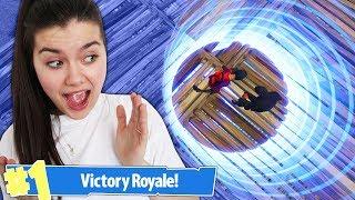 NAJMNIEJSZA STREFA CHALLENGE! Fortnite Battle Royale
