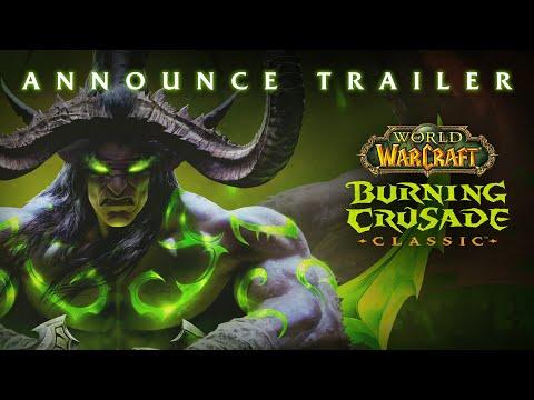 WoW Classic: Burning Crusade Announce Trailer