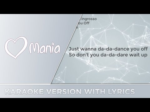 Benjamin Ingrosso - Dance You Off (Sweden) // Karaoke Version // ESC Mania