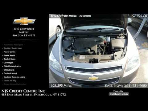 Used 2012 Chevrolet Malibu   NJS Credit Centre Inc, Patchogue, NY
