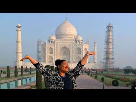 INCREDIBLE India Vlog (part 1) | TAJ MAHAL UP CLOSE AND PERSONAL!