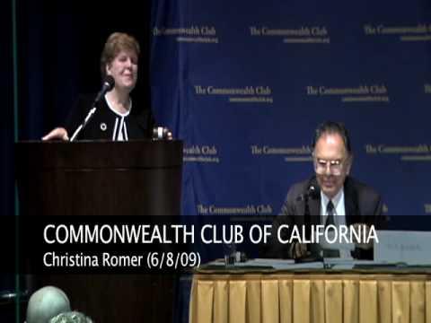 Christina Romer (6/8/09)