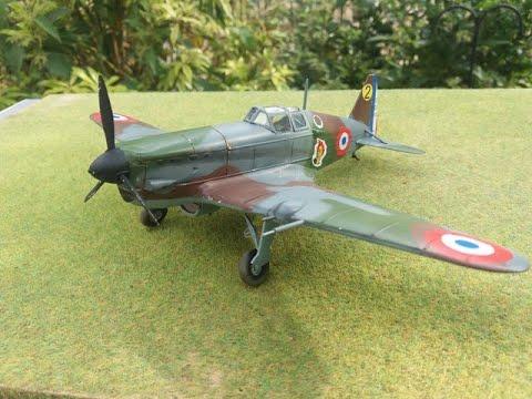 Hobby Craft 1/48 Morane-Saulnier M.S.406
