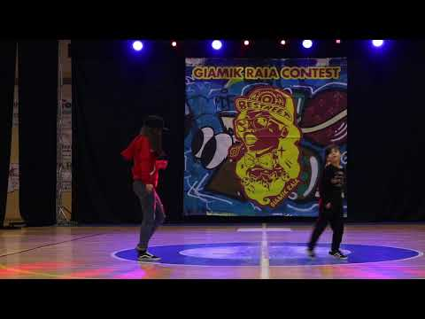 Giamik Raia Dance Contest - Hip Hop Battle Under 14 - Lucia Vs Nicole