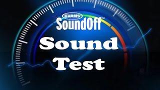 Evans SoundOff Test/Check