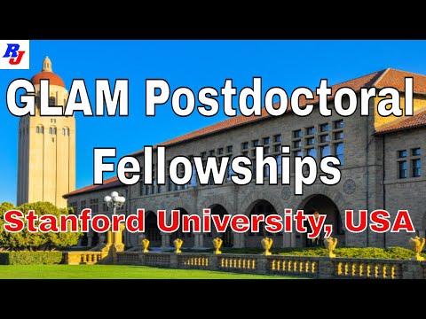 GLAM Postdoctoral Fellowships In Stanford University, USA : Researchersjob