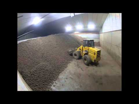 TIMELAPSE loading 1000 tons of potatoes | Kartoffeln verladen