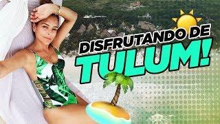 ¡Disfrutando de Tulum! || Grettell Valdez