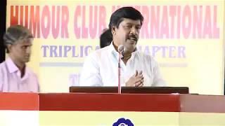 Comedy l Speech l Dr G Gnanasambandan l Humour Club International Triplicane Chapter l Part 01