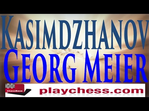 ♚ Rustam Kasimdzhanov vs Georg Meier★Chess Blitz Matchup on Playchess.com★January 17 2015
