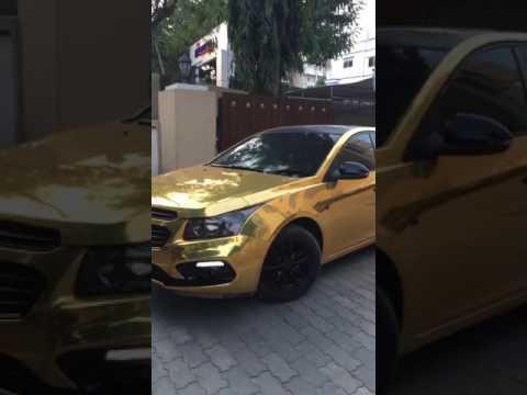 Gold Chrome Cruze Hyderabad