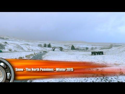 Snow - North East England - Winter 2015