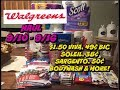 WALGREENS COUPON HAUL VIDEO 9/10 - 9/16 | $1.50 VIVA, 38¢ SARGENTO & MORE!