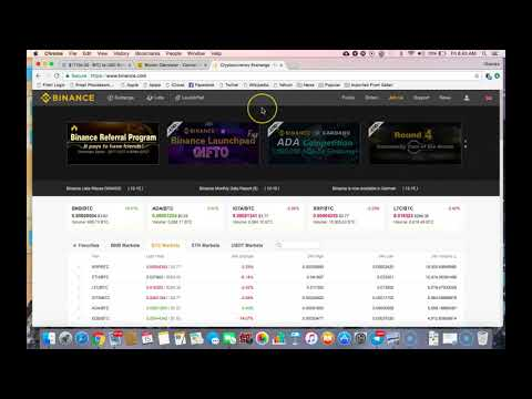How To Buy Ripple(XRP) on Binance From GDAX (FREE--NO FEES)