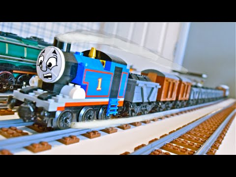 How to Build LEGO Thomas & Friends Rolling Stock 2.0 - YouTube