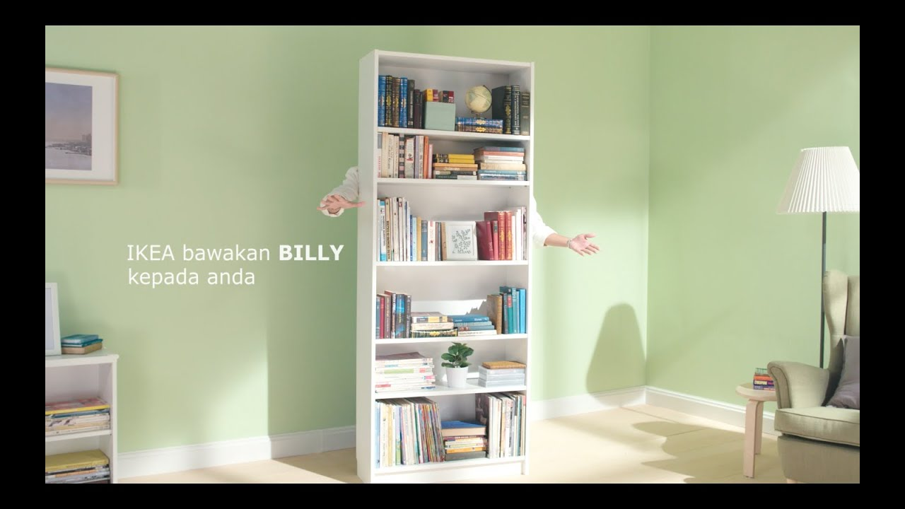 Ikea Libreria Billy Ante.Ikea Billy Youtube