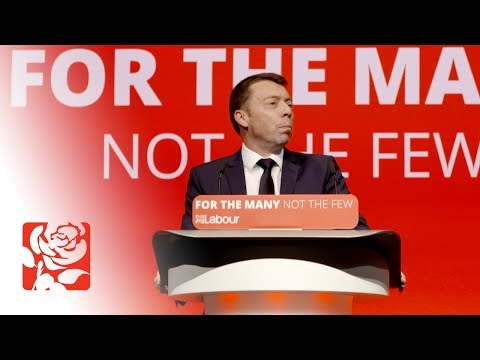 Iain McNicol's Speech to Labour Conference