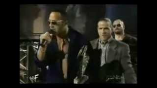 Raw Is War 1998 - The Rock Makes Fun Of WCW Wrestlers And Argues With Triple H