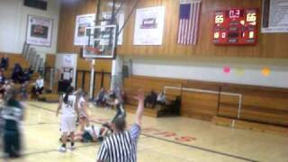 Lafollette Lancers Girls Basketball Overtime Buzzer Beater Win