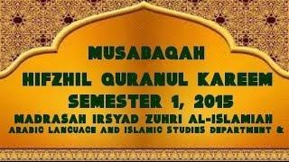 MUSABAQAH HIFDZHIL QURAN SEM 1 2015