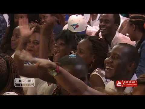 Chris Mwenyeji & Juala SuperBoy from Kids Festival Talent Search